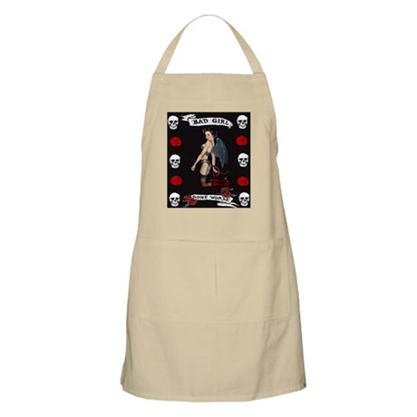 Angel Devil Girl Pin Up Bad Girl Gone Worse Apron