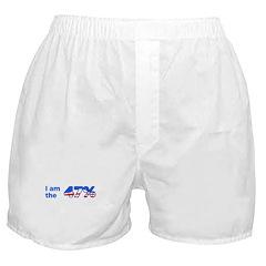 I am the 47% Bumper Sticker Boxer Shorts