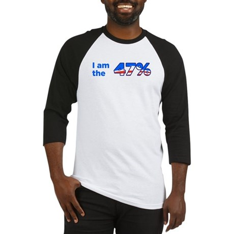I am the 47% Bumper Sticker Baseball Jersey