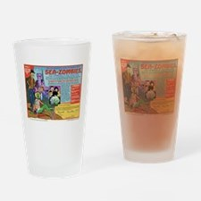Sea -Zombies Drinking Glass