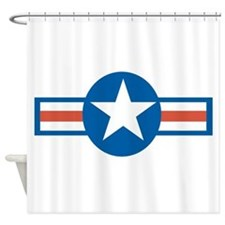 Vintage US Air Force Shower Curtain