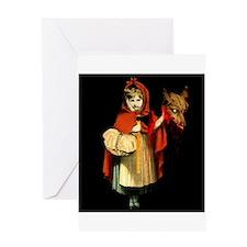 Little Red Riding Hood Gets Revenge Greeting Card