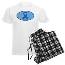 Blue Awareness Ribbon Pajamas