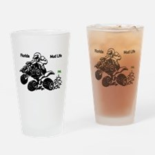 Florida Mud Life Drinking Glass