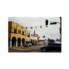 Venice Crossing Rectangle Magnet