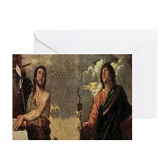 The Saints John Greeting Cards (Pk of 10)