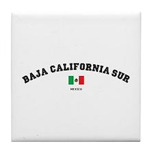 Baja California Sur Tile Coaster
