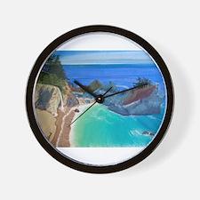 McWay Falls Big Sur Wall Clock