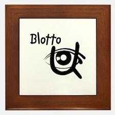 Blotto Logo Framed Tile