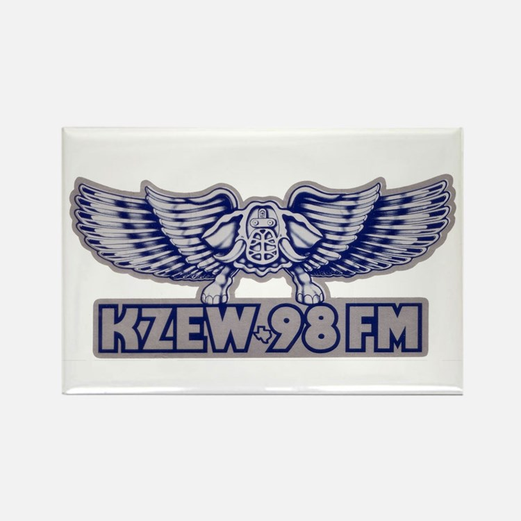 KZEW (1980) Rectangle Magnet