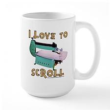 ilovetoscrollEX Mug