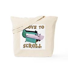 ilovetoscrollEX Tote Bag
