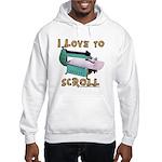 Ilovetoscrollex Hooded Sweatshirt