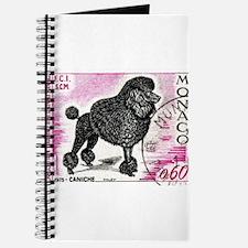 1975 Monaco Dog Show Poodle Stamp Journal