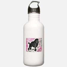 1975 Monaco Dog Show Poodle Stamp Water Bottle
