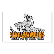 Snowmobiling Decal
