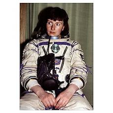 Helen Sharman, British astronaut Poster