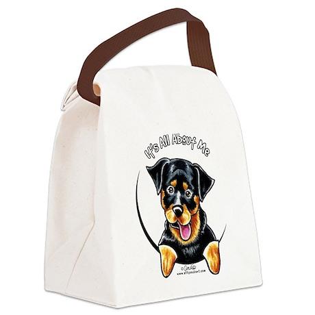 Rottweiler IAAM Canvas Lunch Bag