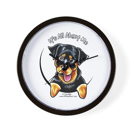Rottweiler IAAM Wall Clock