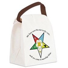 Eastern Star Matthew 2:2 Canvas Lunch Bag