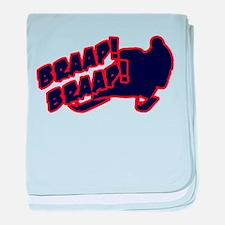 Braap Braap baby blanket