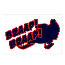 Braap Braap Postcards (Package of 8)