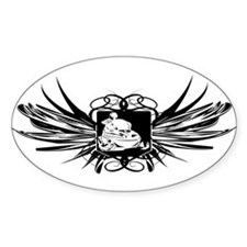 Snowmobile Crest Decal