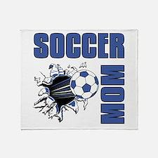Soccer Mom Throw Blanket