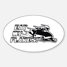 Eat My Flakes Decal