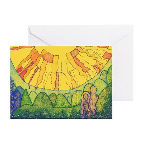 Forever in Sunlight of SPIRIT Greeting Cards (Pk o