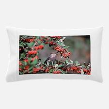 Berries and Bird Pillow Case