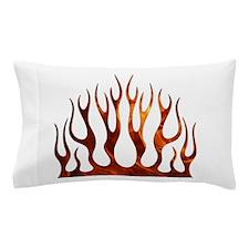 Tribal Flames Fire Pillow Case