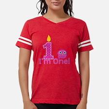 First Birthday Owl Womens Football Shirt