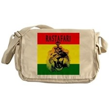 Rasta Jamaican Lion of Judah Messenger Bag