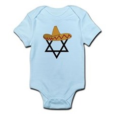 A Jew and a Mexican Star of Sanchez Infant Bodysui