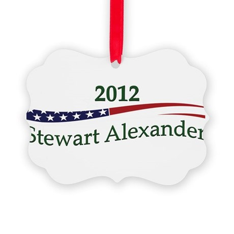 StewartAlexander.png Picture Ornament