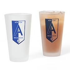 Atheism Secularism Drinking Glass