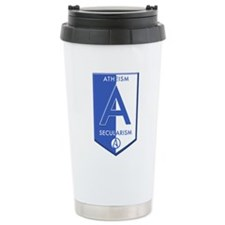 Atheism Secularism Travel Mug