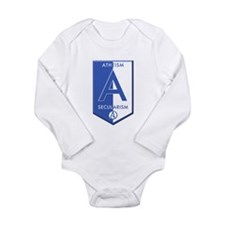 Atheism Secularism Long Sleeve Infant Bodysuit