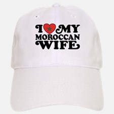 I Love My Moroccan Wife Baseball Baseball Cap