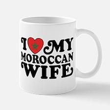 I Love My Moroccan Wife Mug