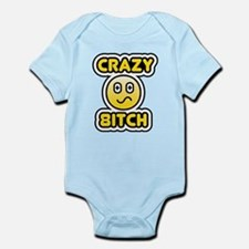 crazy 8itch Infant Bodysuit