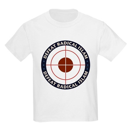 Defeat Radical Islam Kids Light T-Shirt