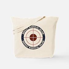 Defeat Radical Islam Tote Bag