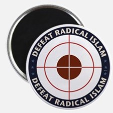 Defeat Radical Islam Magnet