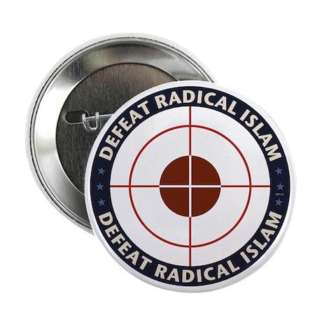 "Defeat Radical Islam 2.25"" Button"