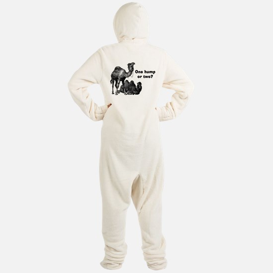 Funny Camels Footed Pajamas