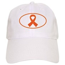 Orange Awareness Ribbon Baseball Cap