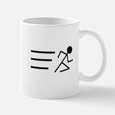 Running Man Mug