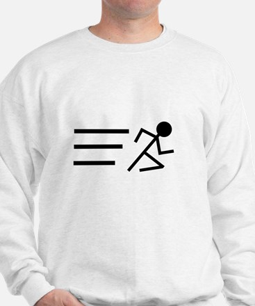 Running Man Sweatshirt